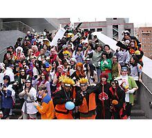 Naruto Cosplay Group Shot Photographic Print