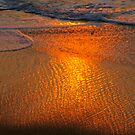 Back Wash on the Outer Banks, Mirlo Beach,Cape Hatteras,North Carolina by Larry Llewellyn