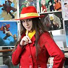 I found Carmen Sandiego Close-up by Okeesworld