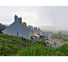 Heavy Fog Rolls in - Alderney Photographic Print