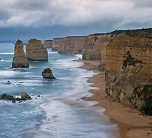 """12 Apostles"",Port Campbell National Park,Great Ocean Road,Australia. by Darryl Fowler"