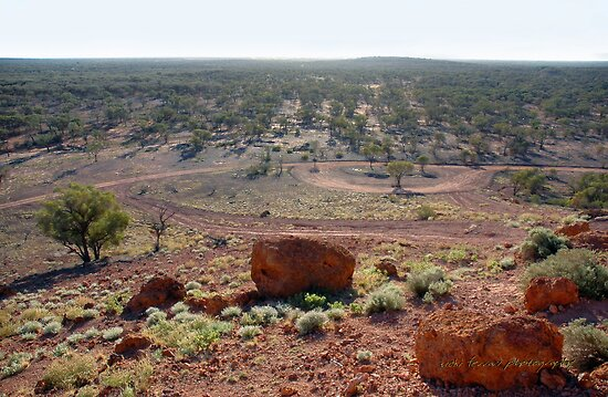 Baldy Top, Quilpie ... the View © by Vicki Ferrari