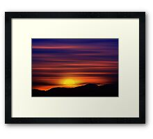 The Painted Sky (2) Framed Print