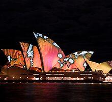 Light of Sydney Opera House by Calvin Tiono