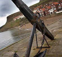 Whitby Anchor  by tsphotography