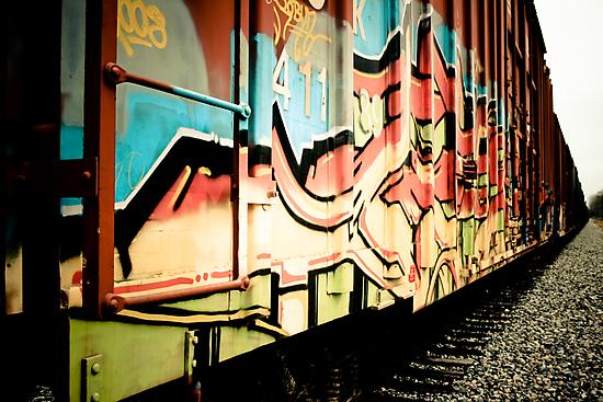 Train Art by jamieart