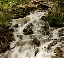 Caledonia State Park WaterFall by Russell Fry