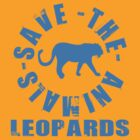SAVE THE ANIMALS-LEOPARDS by OTIS PORRITT
