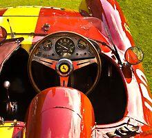Ferrari 1955 857 S by Jack DiMaio