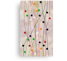 MUCH MORE LINES Canvas Print