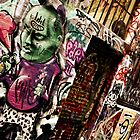 Melbourne Street Art, 2009- 2 by Tash  Menon
