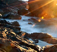 Rays and Rocks by KatRB