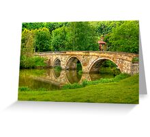 Kirkham Bridge - River Derwent Greeting Card