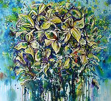 Lilies by Carmen  Cilliers
