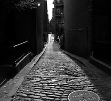 Down the Alley by MMPhotography