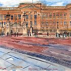 Buckingham Palace by Hopebaby