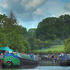 A Busy Stoke Bruerne by SimplyScene