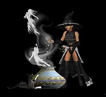 Release the spirits .. a witches spell by LoneAngel