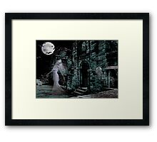 Past Midnight .. The lonely ghost Framed Print