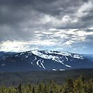 Cascade Mountains by Philip Allgeier