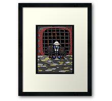 jak crow: captured... Framed Print