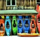 Nantahala Outdoor Center by Misty Lackey
