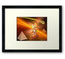 Dynamic Egyptian Framed Print