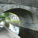 Bridge 46 Langollen Canal - North Wales - UK by Michael Tapping