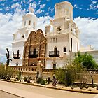 Mission San Xavier del Bac by John Weakly