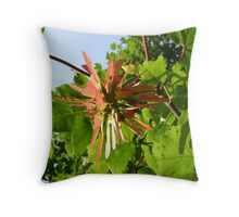 winged cluster Throw Pillow