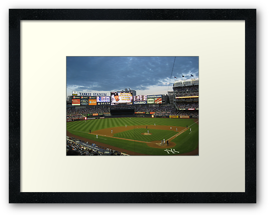 Yankee Stadium Subway Series by Jacker