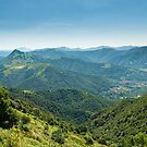 Scenic view from Monte Generoso by peterwey