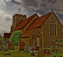 st  Adrews church by lurch