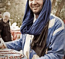 Mohammed at the Market by Boston Thek Imagery