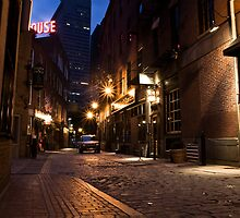North End by Night by Caleb Hughes