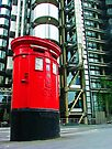 Post Box and Lloyds Building London by Colin J Williams Photography