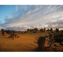 Desert Glow Photographic Print
