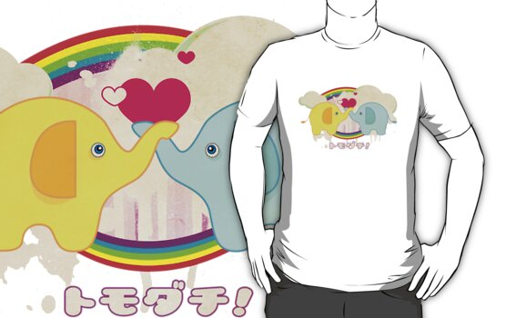 Tomodachi Tee by Tiffany Atkin