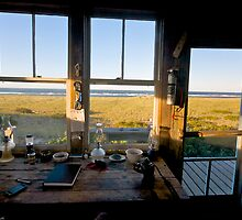 Dune Shack Evening at Provincetown, Cape Cod by Christopher Seufert