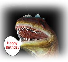 Happy Birthday Dinosaur by Jonice