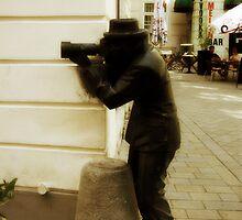 Camera Man, Bratislava, Slovakia by jip0412