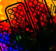 City Splatter Sticker