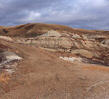 Badlands erosion by zumi