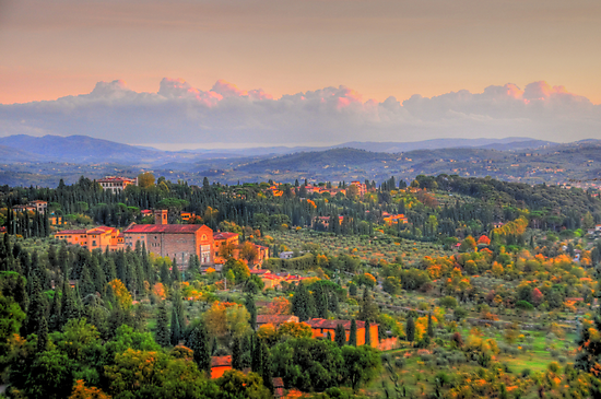 A Touch Of Tuscany by Ron Waldrop