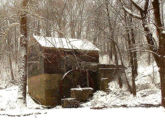 Garvine Mill_3_Winter by Hope Ledebur