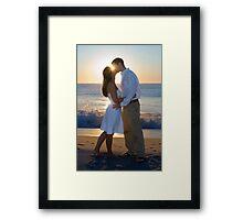 Morning Kiss Framed Print
