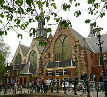 Amsterdam' s oldest church by jchanders