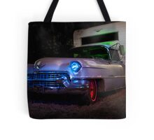 The Old Cadillac on Hemlock Street Tote Bag