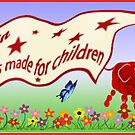 Art and Sories Made For Children banner by Carol Heath