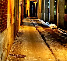 Back Alley Way by Barry W  King
